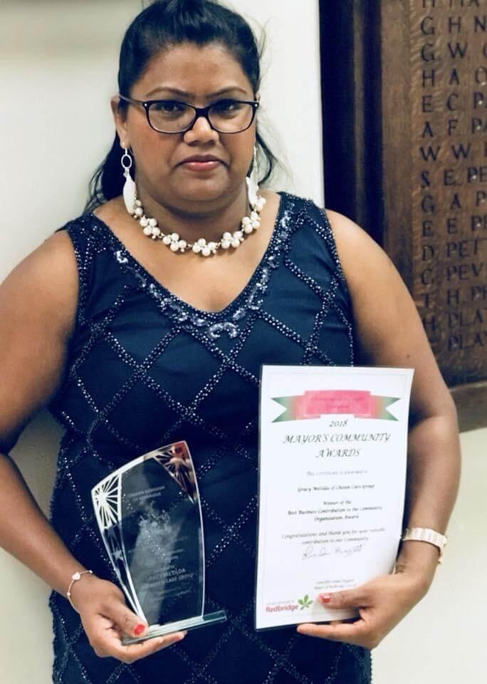 2018 mayor award best business